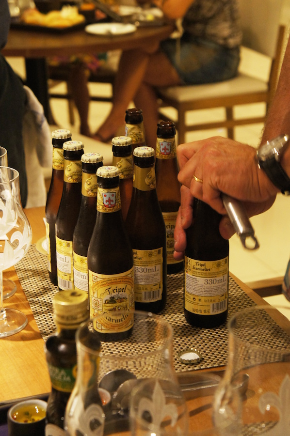 Jack Van Antewerpen nos guiou em Degustação da Cervejaria Belga Bosteels