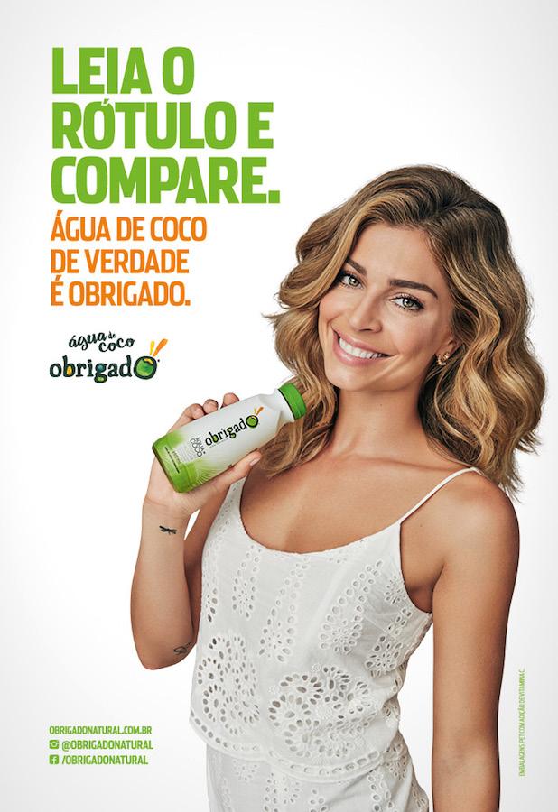 Água de Coco Obrigado Chega a São Paulo