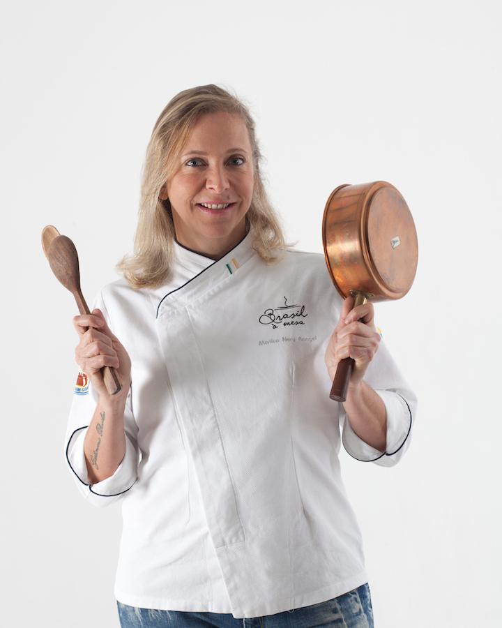 """Chef Mônica Rangel comenta que """"o orgulho brasileiro ainda falta pra acontecer""""."""