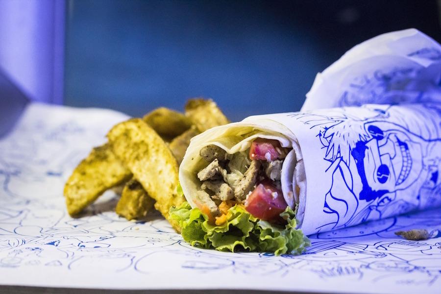 Kebab de Pernil
