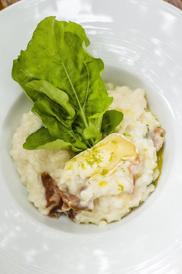 Risoto de Parma e Brie Fácil