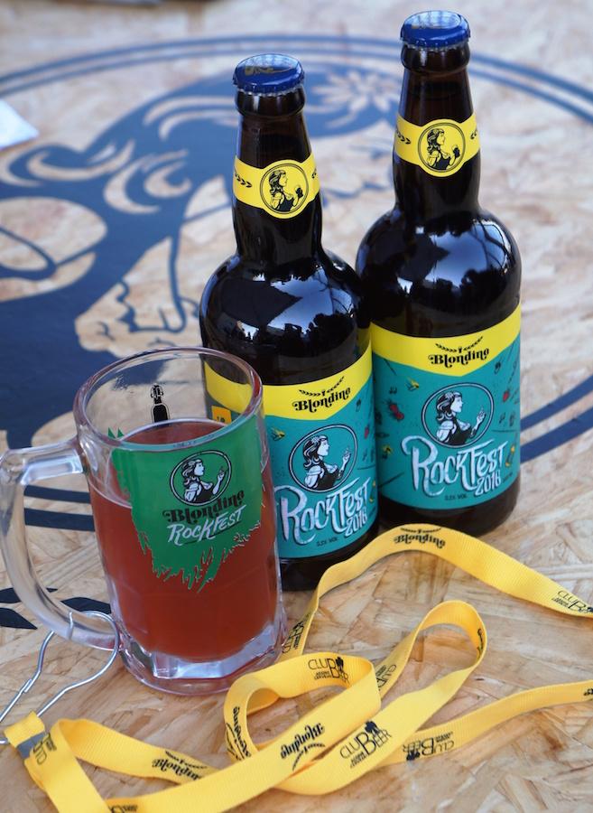Cerveja Blondine Rock Fest