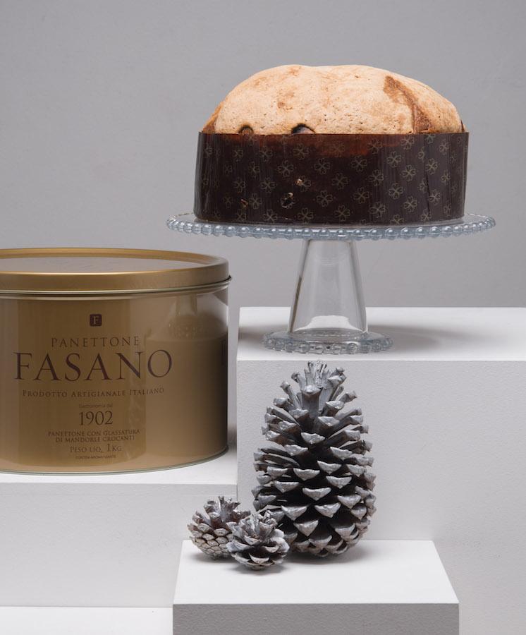 Panettone Fasano é produzido na Italia.